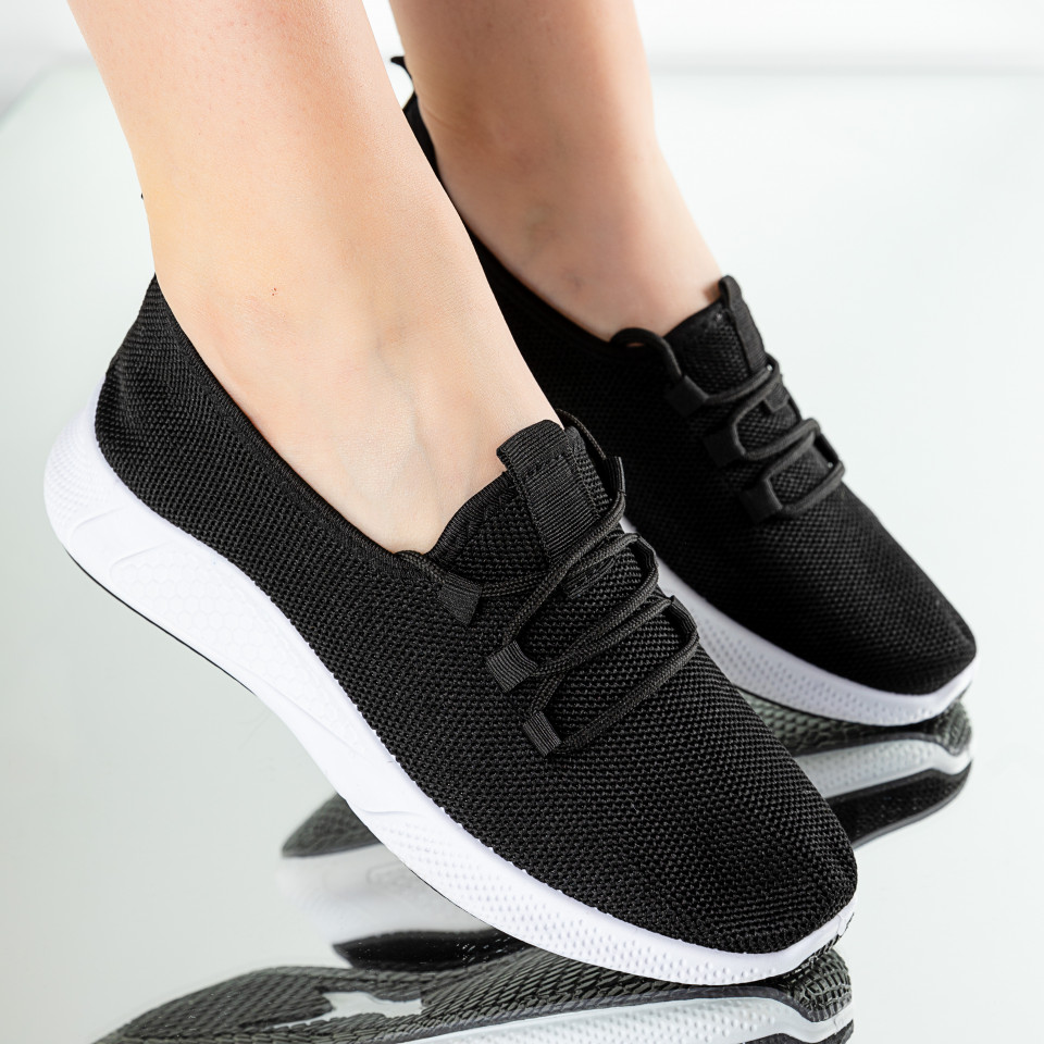 "Pantofi Sport ""MireaFashion"" Cod: 781-2 BLACK/WHITE"