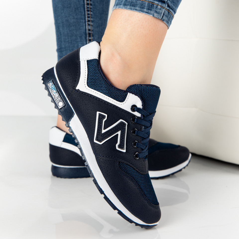 "Pantofi Sport ""MireaFashion"" Cod: 823-2 BLUE"