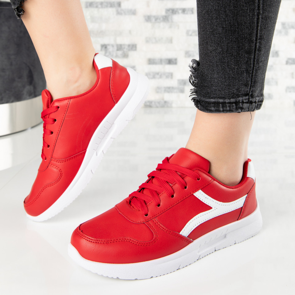 "Pantofi Sport ""MireaFashion"" Cod: A1815-5 RED (S14)"