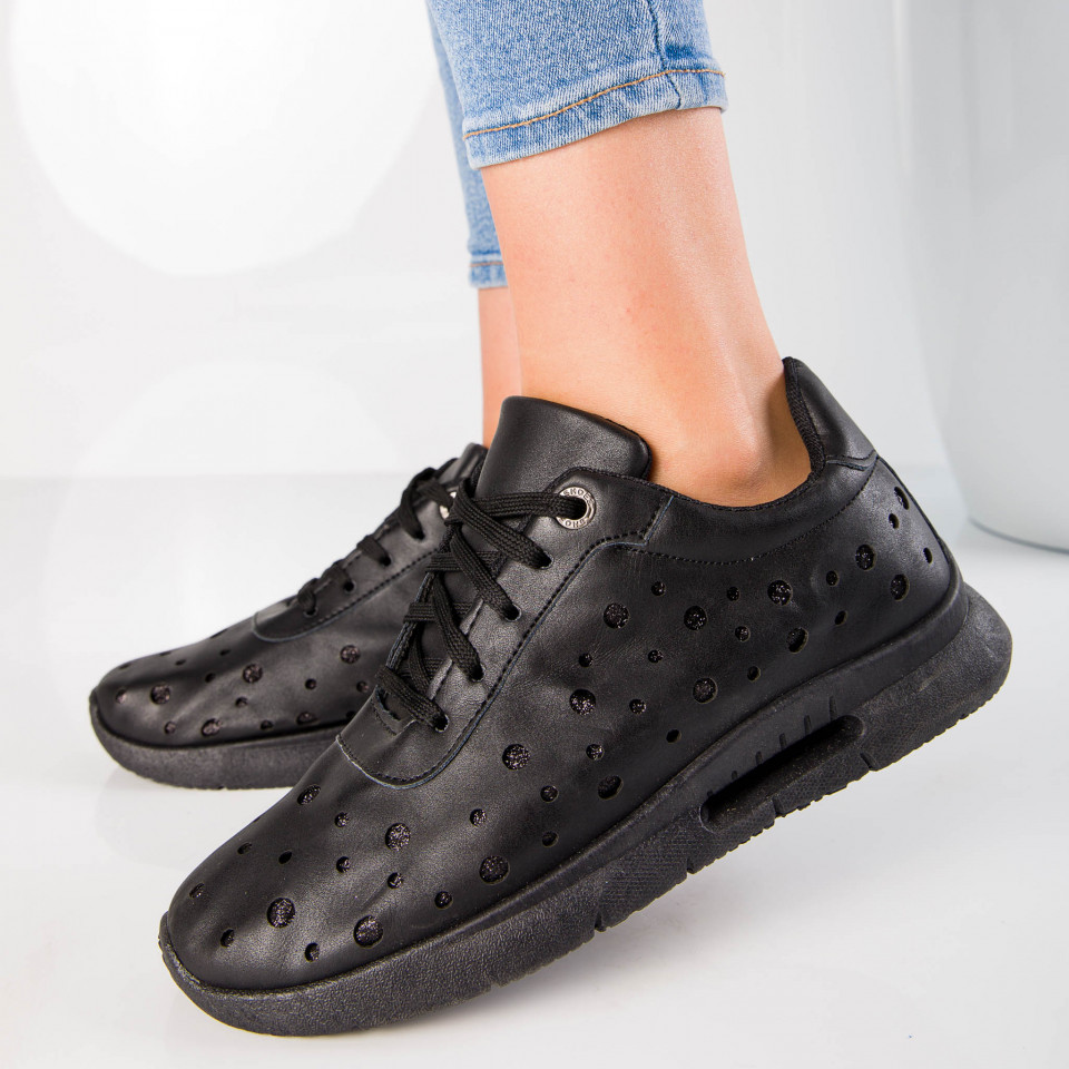 "Pantofi Sport ""MireaFashion"" Cod: ABC-278 BLACK (D16)"