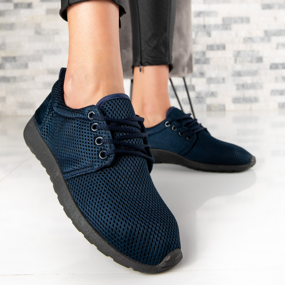 "Pantofi Sport ""MireaFashion"" Cod: 422-11 NAVY (E10)"