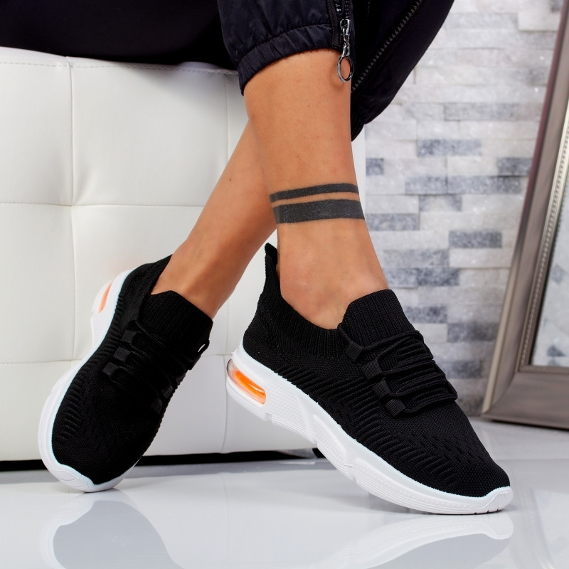"Pantofi Sport ""MireaFashion"" Cod: 915 BLACK (S12)"