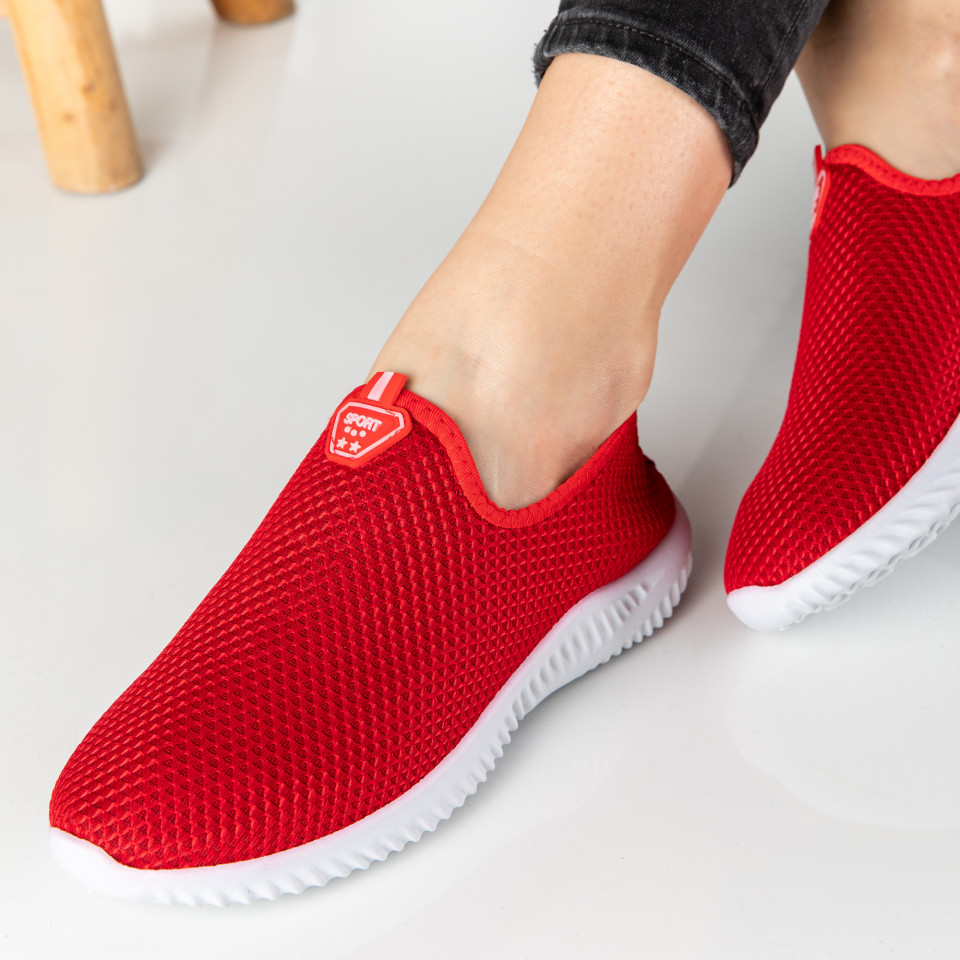 "Pantofi Sport ""MireaFashion"" Cod: H-32 RED"