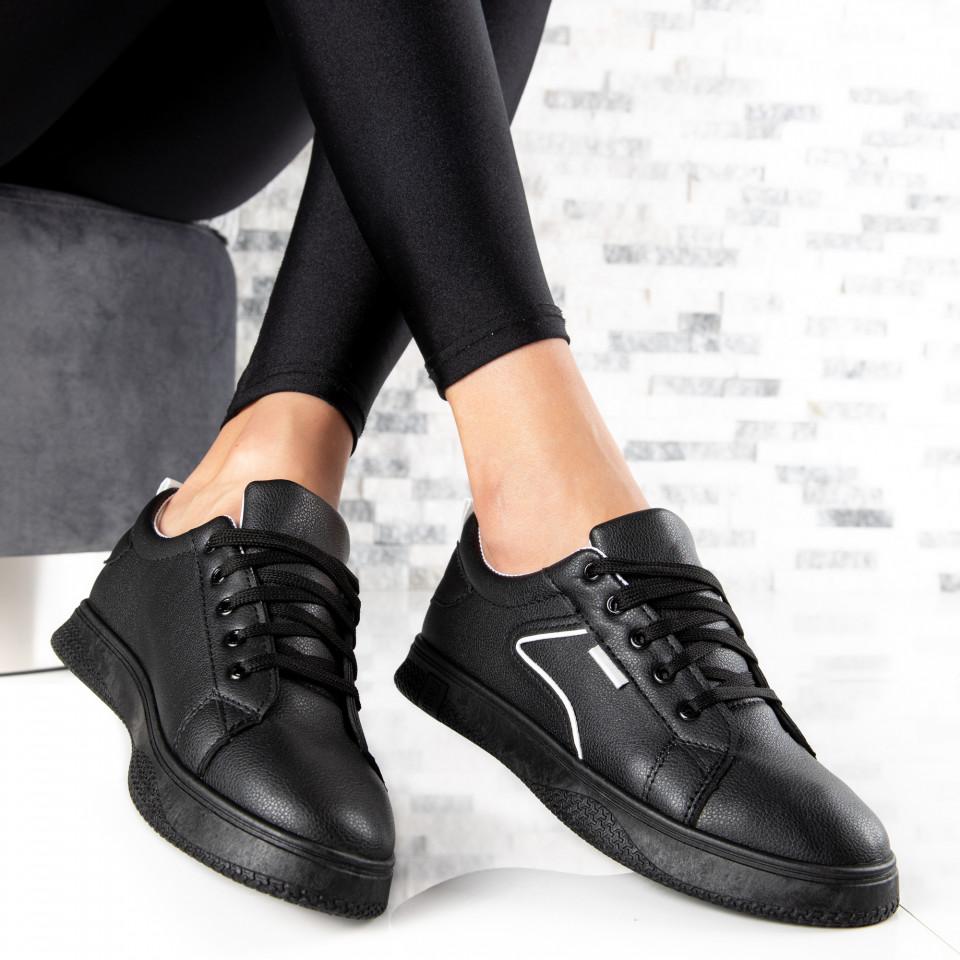 "Pantofi Sport ""MireaFashion"" Cod: HQ-008-39 BLACK (D12)"