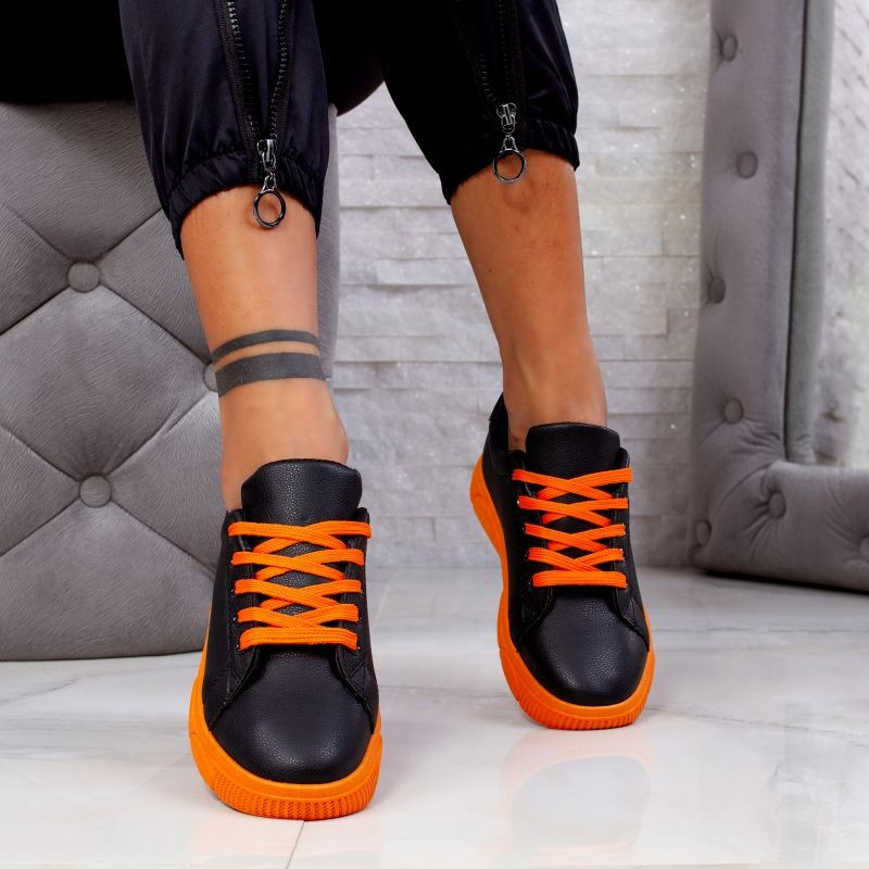 "Pantofi Sport ""MireaFashion"" Cod: HQ-95 BLACK (RR2)"