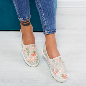 "Espadrile ""Mirea Fashion"" Cod: C151 GREY ( C 9 )"