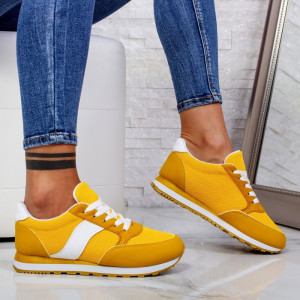 "Pantofi Sport ""MireaFashion"" Cod: ABC-312 YELLOW (A25)"