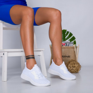 "Pantofi Sport ""MireaFashion"" Cod: HQ-34-154 WHITE (C8)"