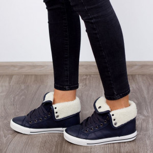 "Ghete ""MireaFashion"" Cod: R-31 Deep Blue (G1)"