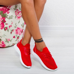 "Pantofi Sport ""MireaFashion"" Cod: DF-02 RED (F3)"