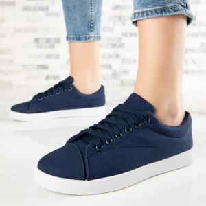 "Pantofi Sport ""MireaFashion"" Cod: A1808-3 NAVY (F8)"