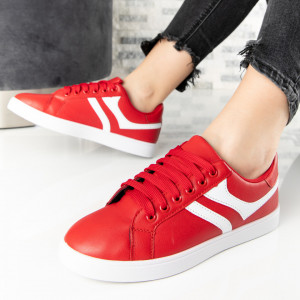 "Pantofi Sport ""MireaFashion"" Cod: A1811-5 RED (E7)"