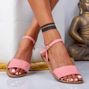 "Sandale ""MireaFashion"" Cod: WLD203-6 PINK (H8)"