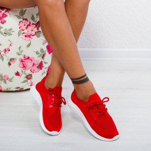 "Pantofi Sport ""MireaFashion"" Cod: DF-04 RED (C9)"