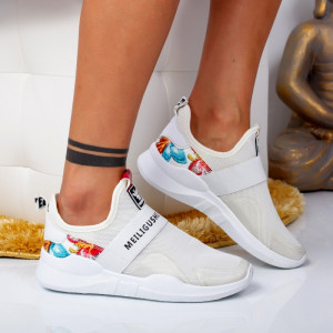 "Pantofi Sport ""MireaFashion"" Cod: H-3 WHITE (G11)"