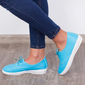 "Espadrile ""MireaFashion"" Cod: 168 Blue (D12)"