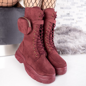 "Ghete ""MireaFashion"" Cod: FB0031 RED (Q15)"