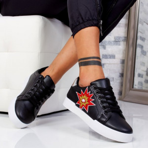 "Pantofi sport""MireaFashion"" Cod: 2415 BLACK (LL3)"