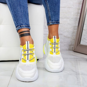 "Pantofi Sport ""MireaFashion"" Cod: ABC-309 FLUORESCENT (KK1)"
