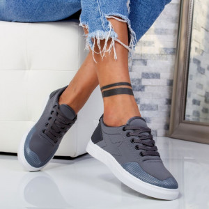 "Pantofi Sport ""MireaFashion"" Cod: B-01 GREY (F6)"