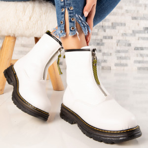 "Ghete ""MireaFashion"" Cod: WLGH22 WHITE (N3)"