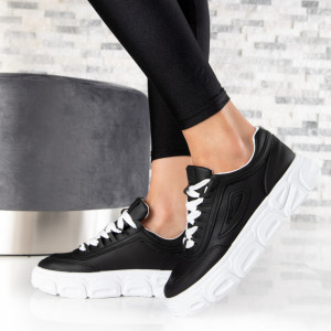 "Pantofi Sport ""MireaFashion"" Cod: 139 BLACK (L11)"
