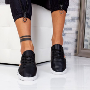 "Pantofi Sport ""MireaFashion"" Cod: HQ-18 BLACK (J10)"