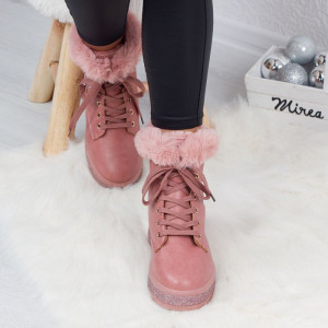 "Ghete ""MireaFashion"" Cod: J1809 PINK (K13)"