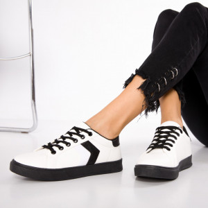 "Pantofi Sport ""MireaFashion"" Cod: 513 WHITE (R15)"