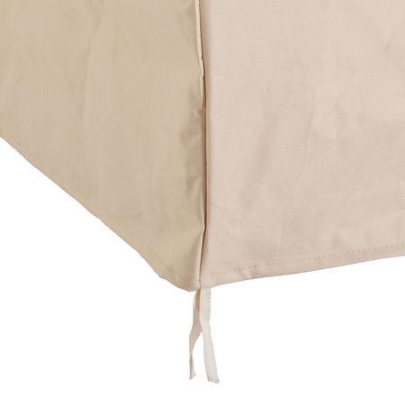 Outsunny Capa de Proteção para Cadeiras Cobertura de Móveis Cadeira Impermeável Exterior, Jardim Proteção contra Chuva e Sol 68x87x77 cm 600D Oxford Tecido