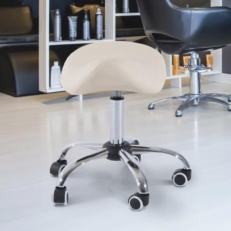 Cadeira Trabalho Banquinho Rodinhas Giratórias Banquinho Cosmética Dentista Cabeleireiro