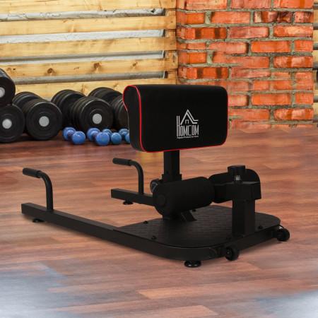 HOMCOM 3 em 1 Placa supina multifuncional Equipamento Abdominal para Exercícios Abdominais carga 120 kg #Euficoemcasa