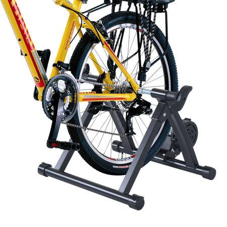HomCom Bicicleta de treinamento com rolo que dobra resistência ajustável