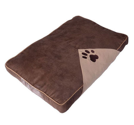 Almofada para Cão 100 x 70 cm Cama Colchão Almofada Sofá de Animal de estimação para Dormir
