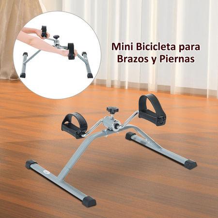HomCom Mini bicicleta de exercício de aço para dispositivo de ciclismo - 40 x 53 x 29cm