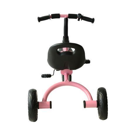 HOMCOM Triciclo para Crianças com mais de 18 meses com Campainha, Guarda-Lamas Roda de Segurança 74x49x55 cm