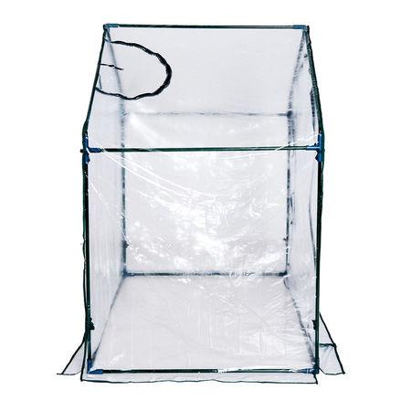 Outsunny® Estufa Transparente de Jardim Viveiro Caseiro Plantas 180x105x150cm