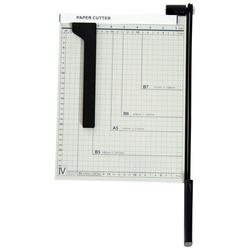 HomCom® Cortador de Papel A4 Guilhotina Profissional para Papelaria 48x26.5x5cm