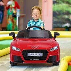 HOMCOM Carro elétrico infantil Carro de brinquedo infantil acima de 3 anos com controle remoto com música e luzes Bateria 6V Carga 30 kg 103x63x44cm