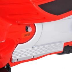 HOMCOM Scooter Elétrico para crianças com USB MP3 Luz para Crianças de a partir de 3 Anos de Carga 25 kg
