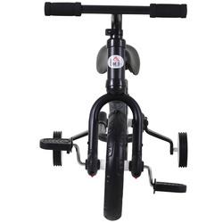 HOMCOM Bicicleta Balance com pedais e rodas removíveis Cor preta carga 25kg