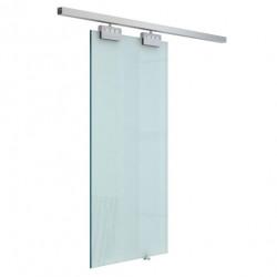 HomCom Porta de Correr Vidro sem Obra 205 x 102.5 cm