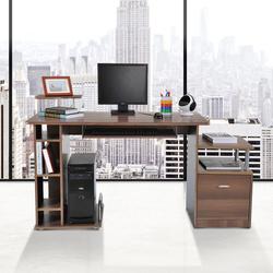Mesa para PC tipo Secretária para Computador- Madeira E1 MDF– 152 x 60 x 80 cm