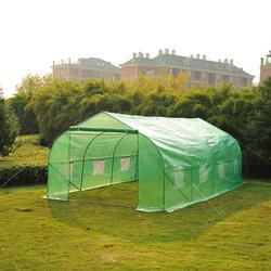 Outsunny® Estufa de Jardim ou Terraço para Cultivo de Plantas e Sementes – Cor verde -600x300x200cm