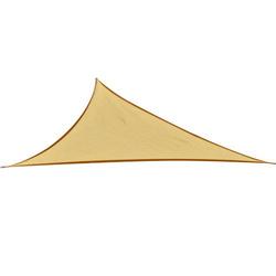 Toldo Vela 3x3x3m Triângulo Cor Areia Guarda-sol Parasol Terraço Jardim Camping