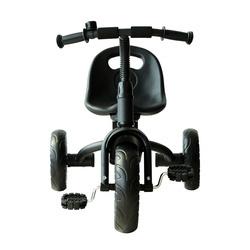 Triciclo para Crianças a partir dos 18 Meses– Cor: Preto– Ferro, Plástico e Tela– 74 x 49 x 55 cm