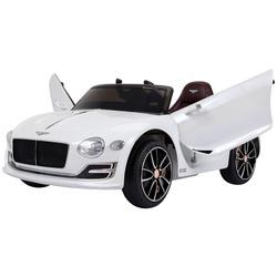 HomCom Carro elétrico para crianças de a partir de 3 anos Bentley com controle remoto MP3