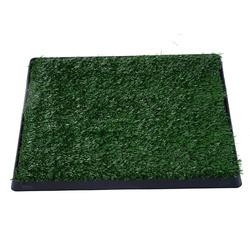 HOMCOM Sanita com Tabuleiro de Plástico Verde e Preto 51 x 63 x 6 cm