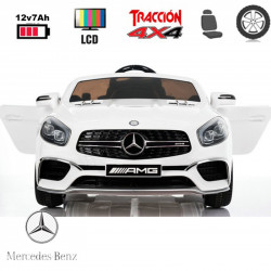 Mercedes SL65 FULL EQUIP Rodas Borracha 120 x 71,6 x 49,5 cm