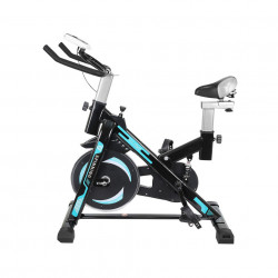 Bicicleta de Spinning Malatec Preta/Azul